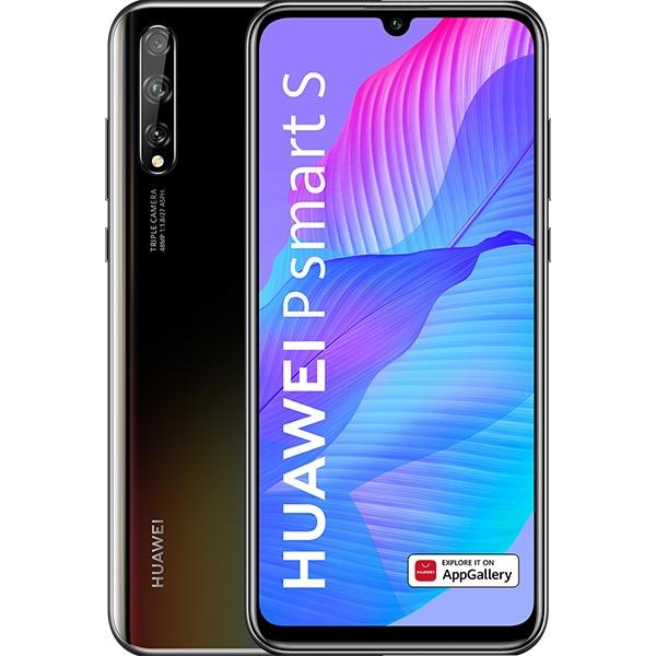 Telefon HUAWEI P Smart S, 128GB, 4GB RAM, Dual SIM, Midnight Black