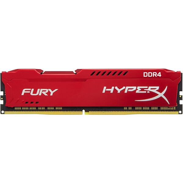 Memorie KINGSTON HyperX Fury 8GB DDR4, 3466MHz, CL19, HX434C19FR2/8
