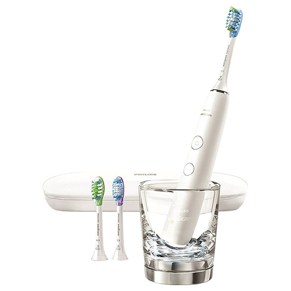 Periuta de dinti electrica PHILIPS Sonicare DiamondClean Smart HX9903/03, Bluetooth, 4 programe, 31000, 3 capete, alb