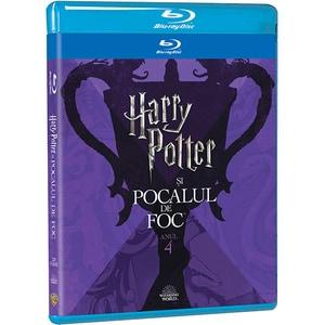 Harry Potter si Pocalul de Foc Blu-ray Editie Iconica