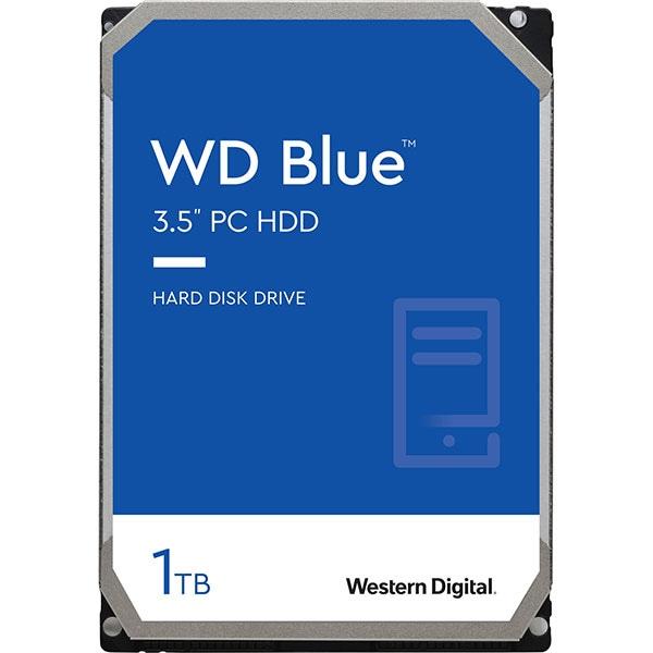 Hard Disk desktop WD Caviar Blue, 1TB, 7200 RPM, SATA 3, 64MB, WD10EZEX