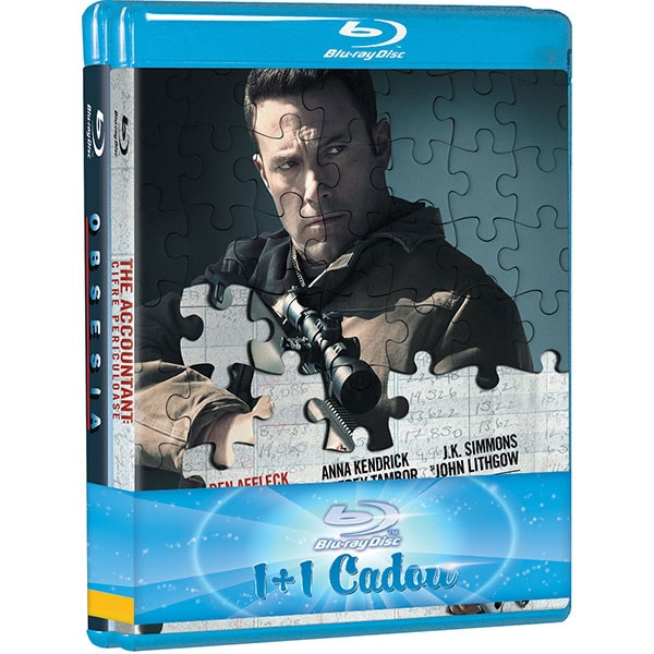 Pachet filme: Obsesia si The Accountant: Cifre periculoase Blu-ray