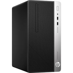 Sistem Desktop HP ProDesk 400 G6, Intel Core i5-9500 pana la 4.4GHz, 8GB, SSD 256GB, Intel UHD Graphics 630, Windows 10 Pro