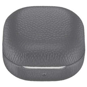 Husa Leather Cover pentru SAMSUNG Galaxy Buds Live/Galaxy Buds Pro, EF-VR180LJEGWW, gray