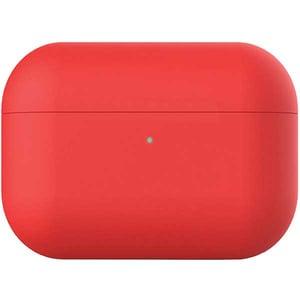 Husa pentru Apple AirPods Pro PROMATE AirCase-Pro, silicon, rosu