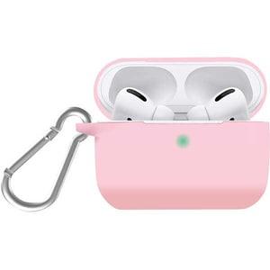 Husa pentru Apple AirPods Pro + inel prindere PROMATE SiliCase-Pro, silicon, roz
