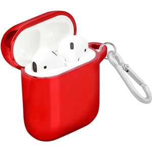 Husa pentru Apple AirPods + inel prindere PROMATE NeonCase, silicon galvanizat, maro