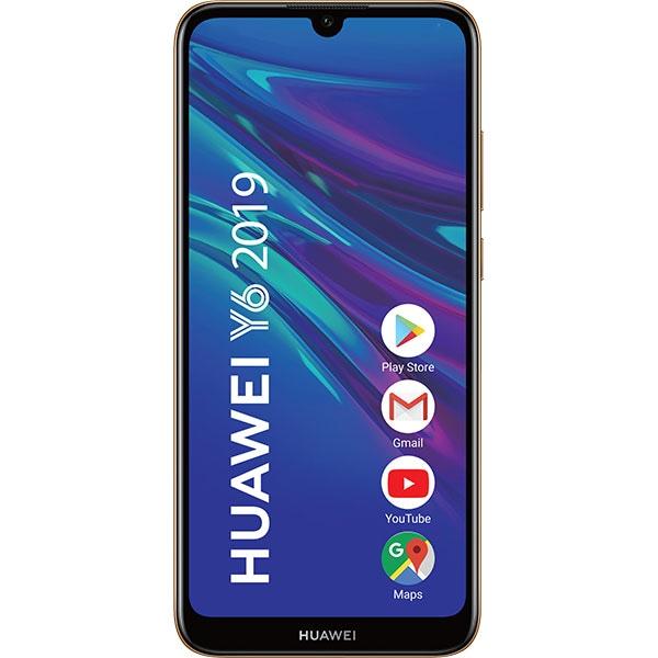 Telefon HUAWEI Y6 2019, 32GB, 2GB RAM, Dual SIM, Amber Brown