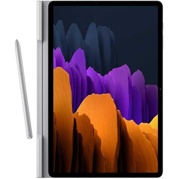Husa Book Cover pentru SAMSUNG Galaxy Tab S7+, EF-BT970PJEGEU, gri