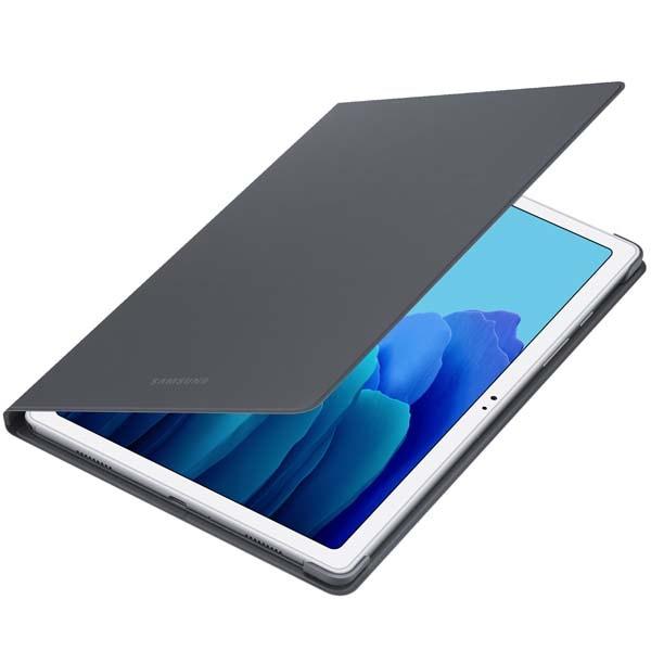 Husa Book Cover pentru Samsung Galaxy Tab A7, EF-BT500PJEGEU, gri