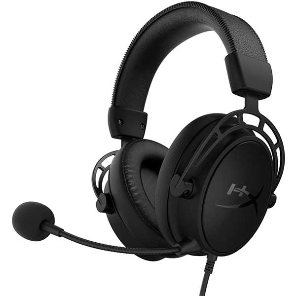 Casti Gaming HyperX Cloud Alpha S Blackout, surround, 3.5mm, negru