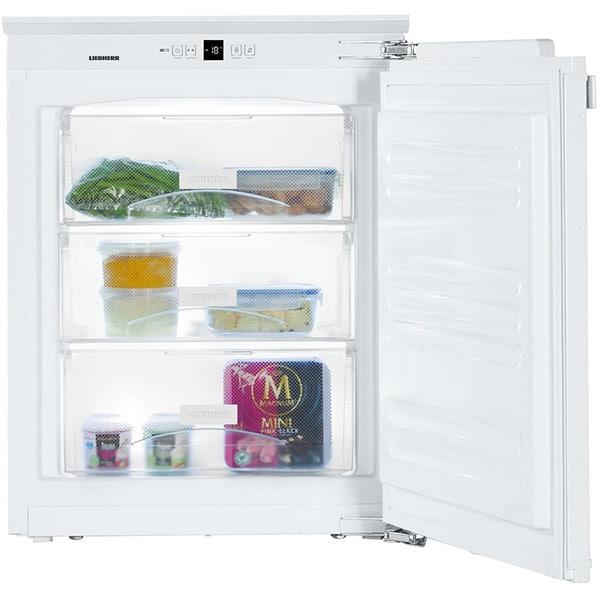Congelator incorporabil LIEBHERR IG1024, Smart Frost, 74 l, H 72.8 cm, Clasa E, alb