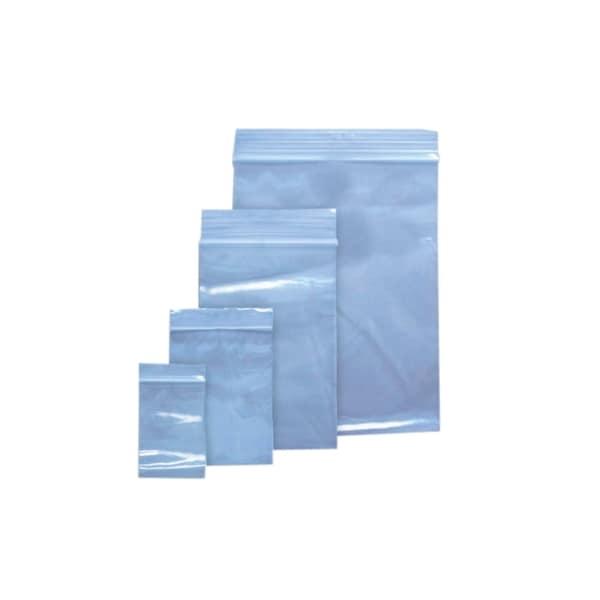 Pungi ziplock VOLUM, 100 x 150 mm, polietilena, 100 bucati, transparent