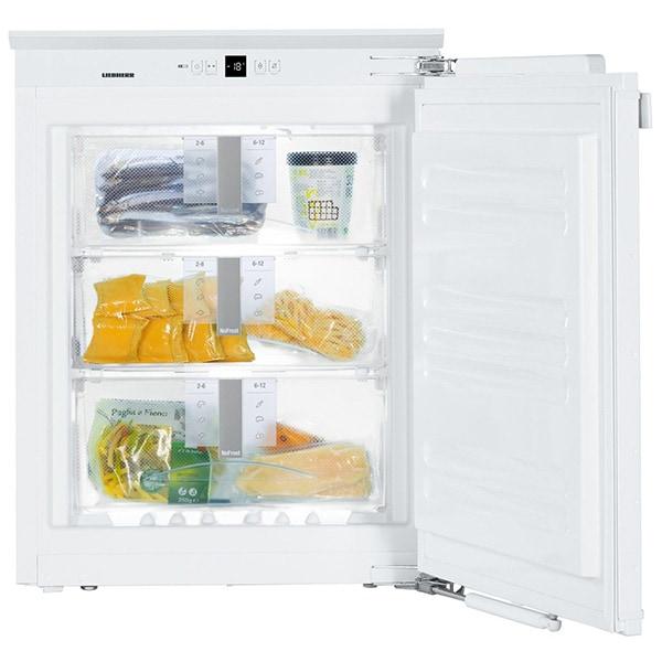Congelator incorporabil LIEBHERR IGN1064, NoFrost, 65 l, H 72 cm, Clasa E, alb