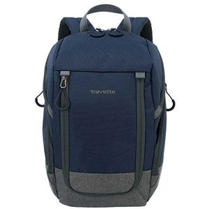 Rucsac TRAVELITE Basic, albastru-gri