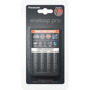 Incarcator PANASONIC Eneloop Pro BQ-CC55 + 4 acumulatori, AA, 2500mAh, negru