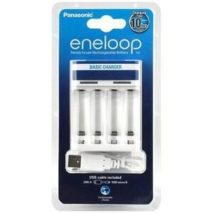 Incarcator PANASONIC Eneloop USB BQ-CC61, 1-4 AA/AAA, alb