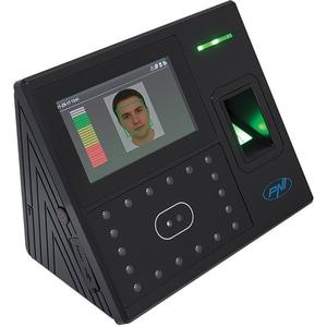 Sistem de pontaj biometric PNI Face 500, amprenta, recunoastere faciala, card, negru