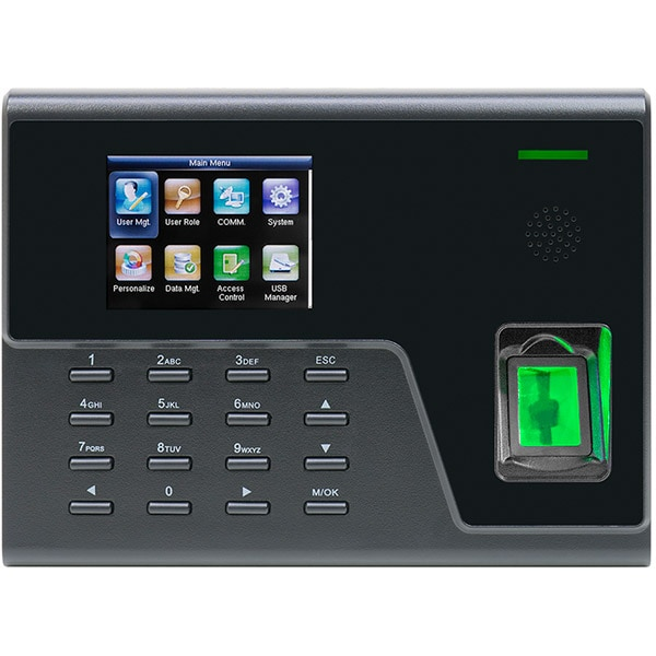 Sistem de pontaj biometric PNI Finger 700, amprenta, card, negru