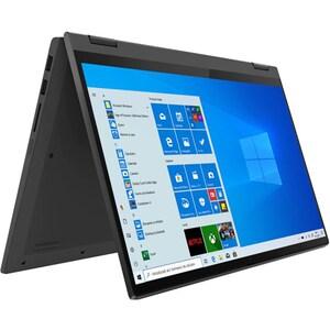 """Laptop 2 in 1 LENOVO IdeaPad Flex 5 14IIL05, Intel Core i7-1065G7 pana la 3.9GHz, 14"""" Full HD, 16GB, SSD 512GB, Intel Iris Plus Graphics, Windows 10 Pro, gri"""