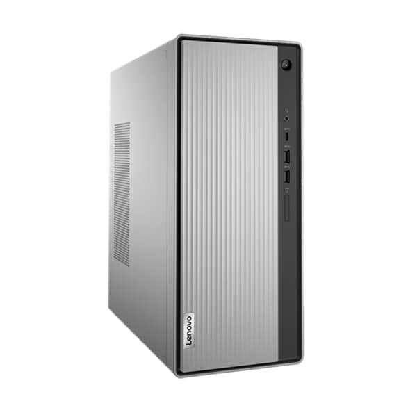 Sistem Desktop Gaming LENOVO IdeaCentre 5 14IMB05, Intel Core i5-10400 pana la 4.3GHz, 16GB, SSD 512GB, AMD Radeon RX 550X 4GB, Free DOS