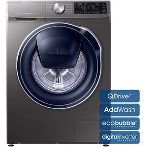 Masina de spalat rufe frontala SAMSUNG WW90M644OPX/LE, EcoBubble, AddWash, 9kg, 1400rpm, Clasa A+++, inox