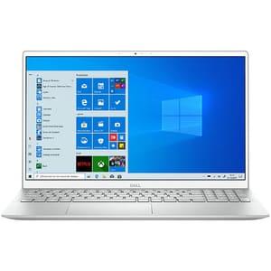 "Laptop DELL Inspiron 15 5505, AMD Ryzen 7 4700U pana la 4.1GHz, 15.6"" Full HD, 8GB, SSD 512GB, Windows 10 Home S, argintiu"