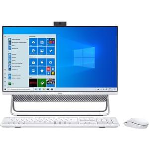 """Sistem PC All in One DELL Inspiron 7700, Intel Core i5-1135G7 pana la 4.2GHz, 27"""" Full HD, 8GB, SSD 512GB, NVIDIA GeForce MX330 2GB, Windows 10 Pro"""