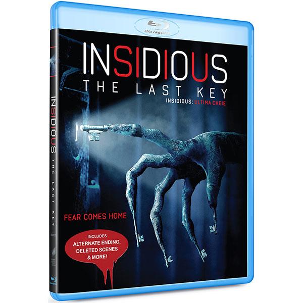 Insidious: Ultima cheie Blu-ray