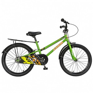 "Bicicleta pentru copii JUNIOR J2001B, 20"", verde"