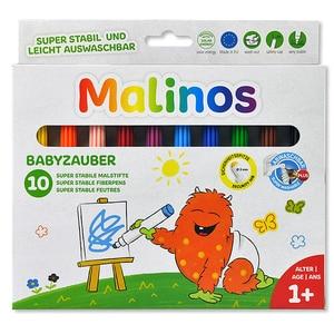 Set carioci pentru bebelusi MALINOS, 12 luni+, 10 culori