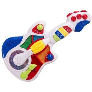 Jucarie interactiva LITTLE LEARNER Prima mea chitara 3856T, 12 luni+, multicolor