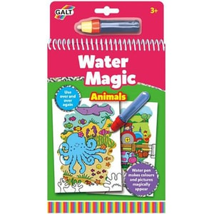 Carte de colorat GALT Animals Water Magic A3079H, 3 ani +, 6 imagini