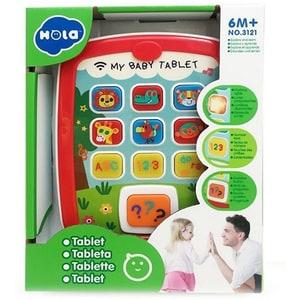 Jucarie interactiva HOLA Tableta cu muzica si lumini 3121, 6 luni+, multicolor