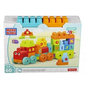 Joc constructie FISHER PRICE Trenulet cu litere Mega Bloks MTDXH35, 1-5 ani, 56 piese