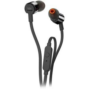 Casti JBL Tune 210, Cu fir, In-ear, Microfon, negru