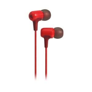 Casti JBL E15, Cu fir, In-ear, Microfon, rosu