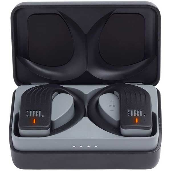 Casti JBL Endurance Peak, True Wireless, Bluetooth, In-ear, Microfon, negru
