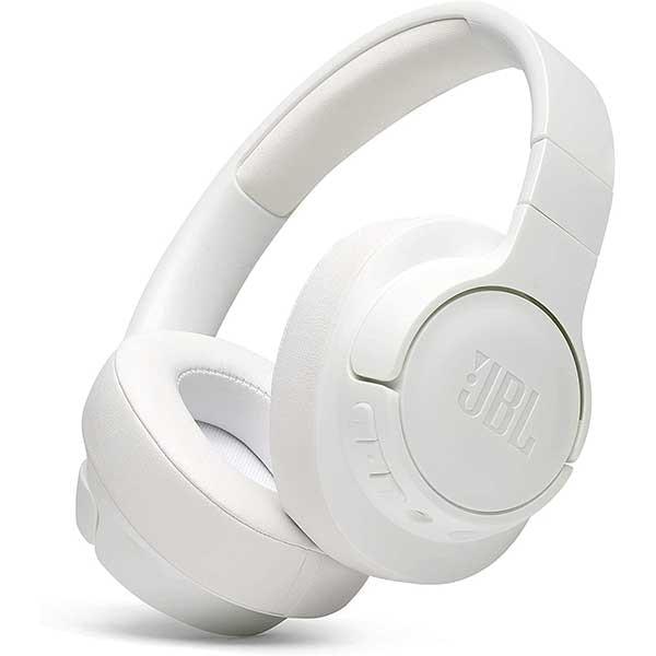 Casti JBL Tune 700BT, Bluetooth, Over-ear, Microfon, alb