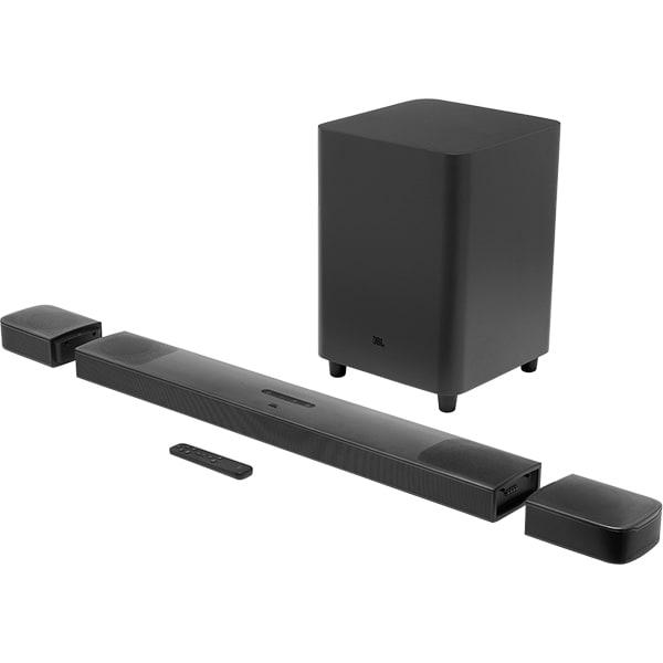 Soundbar JBL BAR 9.1 True Wireless Surround, 5.1.4, 820W, Bluetooth, Subwoofer Wireless, Dolby Atmos, negru