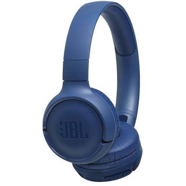 Casti JBL Tune 500BT, Bluetooth, On-ear, Microfon, albastru