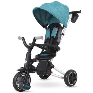 Tricicleta QPLAY Nova 320013131, 10 luni-3 ani, turcoaz-negru