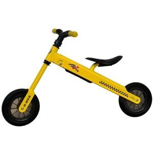 """Bicicleta copii fara pedale COCCOLLE B-Bike 335010040, 8.3"""", galben-negru"""