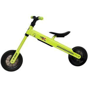 """Bicicleta copii fara pedale COCCOLLE B-Bike 335010040, 8.3"""", verde-negru"""