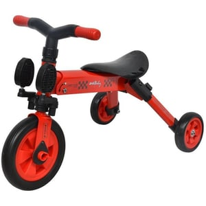 Tricicleta COCCOLLE B-Trike 335010120, 12 luni+, rosu-negru