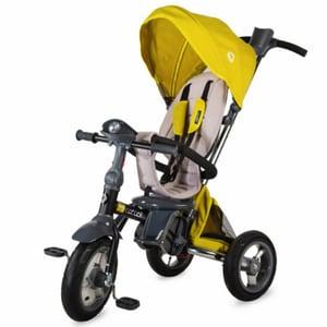 Tricicleta COCCOLLE Velo Air 339012540, 12 luni+, verde deschis-gri