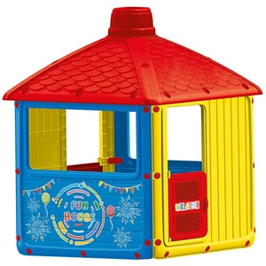 Casuta DOLU City House D3010, 2 ani+, plastic, multicolor