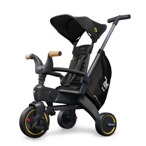 Tricicleta DOONA Liki Trike S5 SP550-99-033-041, 10 luni - 3 ani, negru