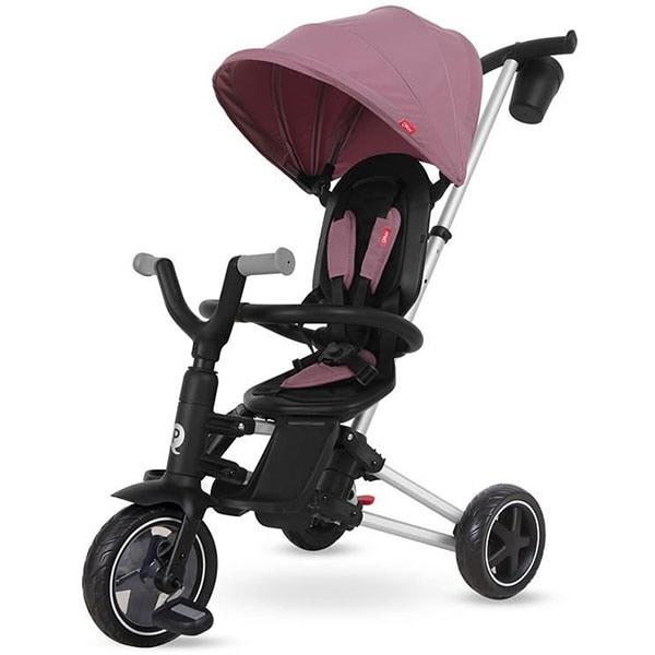 Tricicleta QPLAY Nova 320013150, 10 luni-3 ani, violet-negru