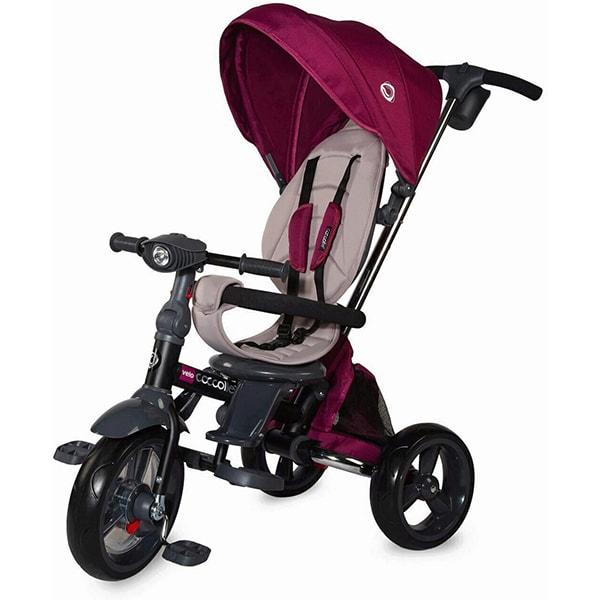 Tricicleta COCCOLLE Velo 339012550, 12 luni+, mov-gri